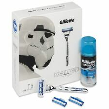 Gillette Mach 3 Turbo Star Wars Rogue One Gift Set Razor Shave Gel Cartridges