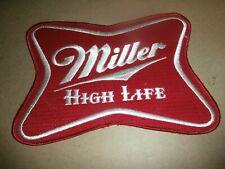 Vintage Large Miller High Life Beer Embroidered Patch