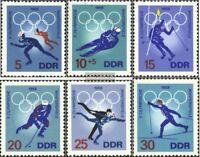 DDR 1335-1340 (kompl.Ausgabe) postfrisch 1968 Olympiade