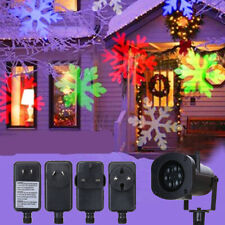 12 Slides + Xmas Christmas LED Moving Laser Projector Lamp Light Outdoor