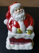 Santa Claus Candle Avon Spiced Vanilla Christmas Holiday Chimney