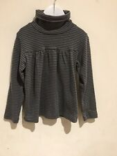 Mila Blue Lovely Girls Striped To page 5yrs 100% Cotton In Excellent Condition