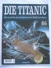 Hachette Die Titanic Bausatz Heft 86 original und ungeöffnet