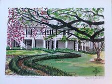 MELROSE Plantation Art Print Natchitoches Louisiana plantation colonial K Jones