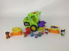 The Trash Pack Street Sweeper Vehicle w/ Trash Pack Lauchers Figures + Ugglys