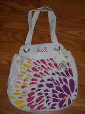 O'Neill White Canvas Tote Bag Brand New