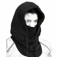 Full Face Mask Fleece Cap Balaclava Neck Warmer Hood Winter Sports Ski Men Women