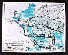 1978 Alaska Map - Noatak Kobuk Selawik Cape Krusenstern Actic Wildlife Refuges