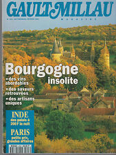 GAULT MILLAU  magazine - février 1994 - Bourgogne insolite