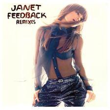 "Janet Jackson Feedback Vinyl 2x12"" Single Sealed! Remixes Ralphi Rosario & More"