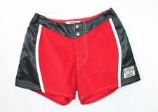 Hot Tuna Designer Red Black Insert Casual Shorts Size 8-XS BNWT #TD17
