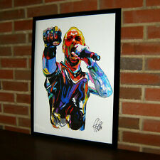 Ivan Moody Five Finger Death Punch Rock Metal Music Poster Print Wall Art 18x24