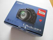 CANON SX 30 IS Digitalkamera, 14,1 MP, 35xopt. Zoom, Bildstabi, OVP, neuwertig !