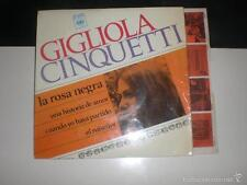 EP GIGLIOLA CINQUETTI - LA ROSA NEGRA + 3 - CBS 1967 VG+