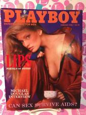 Playboy February 1986 COVER: CHERIE WITTER CENTERFOLD: JULIE McCULLOUGH LN-/NM-