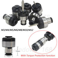 Tapping Drill Chuck ISO M3/M4/M5/M6/M8/M10/M12 with Torque Protection Function