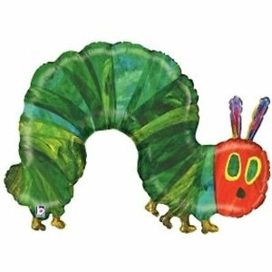 The Very Hungry Caterpillar Party Large Shape Foil Balloon 109cm Helium Quality