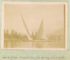Suisse, Genève, Lac de Genève, près de Vevey ca.1900, vintage citrate print Vint
