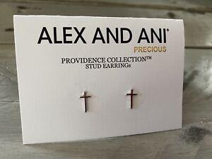 Alex /& Ani Energy Sacred Studs Yellow Earrings Pierced Ears Brand New NWT