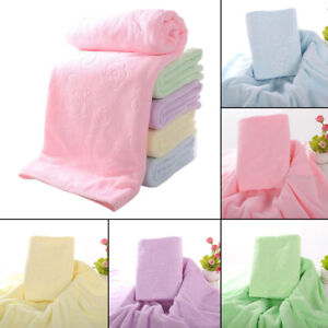 Pack of 5 Bath Sheet Extra Large Beach Bath Towel Super Soft for Kids Adult