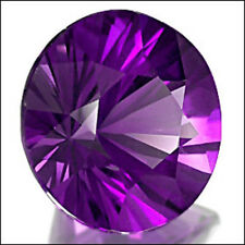 9,97 ct  Intense Purple Amethyst - Brilliant cut - IF - Africa