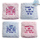 PERSONALISED BABY BLANKET EMBROIDERED SOFT FLUFFY GIFT <br/> ⋆ QUALITY GIFT ⋆ SUPER SOFT ⋆ OVER 20,000 SOLD !!!