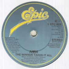 "ABBA The Winner Takes It All  7"" VINYL"