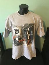 Vtg Los Angeles Raiders Locker Room Lee Sport Shirt Mens size XXL