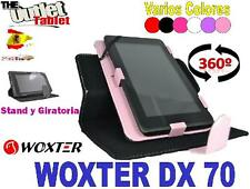 "FUNDA PARA TABLET WOXTER DX70  7"" PULGADAS UNIVERSAL dx 70"