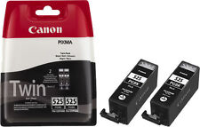 2x PGI-525-BK CANON PIXMA MG6150 MG6250 MG8150 MG8250 MX885 TINTE PATRONEN SET