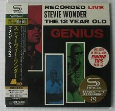 STEVIE WONDER-Recorded Live The 12 Year Old JAPAN SHM MINI LP CD NEU UICY-93865