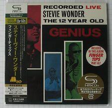 STEVIE WONDER-Recorded Live The 12 Year Old JAPAN SHM MINI LP CD NEU UICY-93865