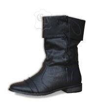 Mittelalter Stiefel Schuhe LARP Räuber Pirat Ritter