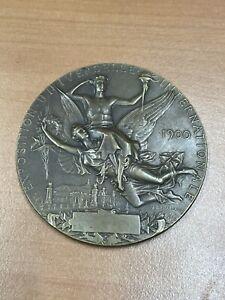 Jeux Olympiques 1900/exposition universelle médaille de bronze par Chaplain