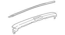 Genuine GM Rear Body Panel Molding 22825845