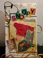 Vintage. RARE!! 1989 Shillman Peanuts Characters Barbie Fashion. FREE SHIPPING