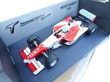 MINICHAMPS TOYOTA TF102 F1 model racing car Mika Salo 2002 1:18th MB