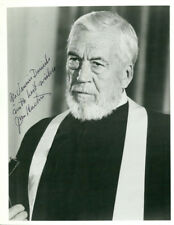 John Huston (Vintage, Inscribed) signed photo COA