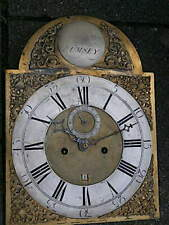 More details for c1750 8 day longcase grandfather clock dial+movement 12x17 inch jacob ettry of r