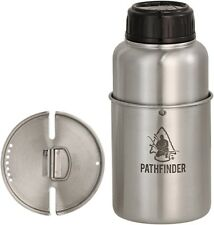 Pathfinder Stainless Steel Bottle and Nesting Cup Set - New In Box FREE SHIPPING