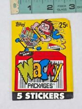 1990 TOPPS Wacky Pack Of 5 Stickers