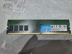 8GB CRUCIAL DDR4 RAM 2666MHZ PC