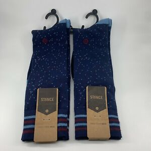 New Men's Stance Reserve Fusion Dress Socks (Bruce Dress) 645- Size Large (9-12)