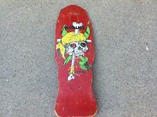 Vintage ZORLAC METALLICA Skateboard Deck PUSHEAD PIRATE Prnt ORIGINAL Old School