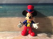 DISNEY MICKEY MOUSE PVC POSEABLE CAKE TOPPER DISPLAY PLAY FIGURE