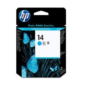 Original Druckkopf HP 14 C4921A cyan OfficeJet 7110 xi 7310 7410 D125 D145 o.V.