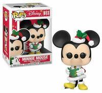 Funko Pop! 613 Disney Minnie Mouse Christmas Mistletoe New In Box