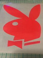 "11.5"" Pink Playboy Bunny ( glows in a blacklight)"