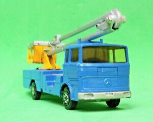 Solido #358 Truck Mercedes L.P. 1418/46 Nacelle REPORTAGE TELEVISION 1/50 Scale
