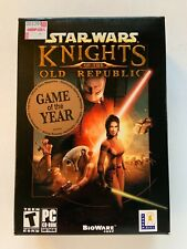 STAR WARS KNIGHTS OF THE OLD REPBULIC LucasArts IBM PC CD-ROM 2003 **SEALED**